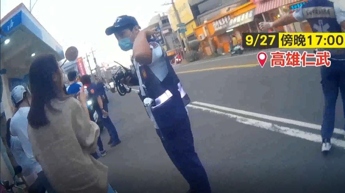 ▲▼高雄加油站發生氣爆。(圖/翻攝自《東森新聞》)