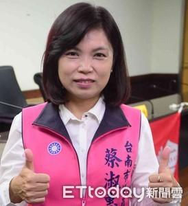 蔡淑惠進入百米衝刺階段拼勝選