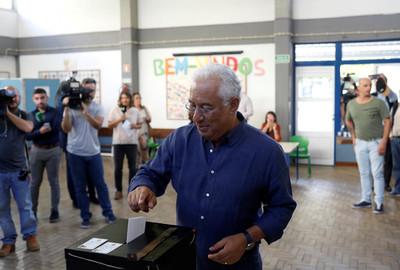 葡萄牙國會大選出口民調:社會黨大勝