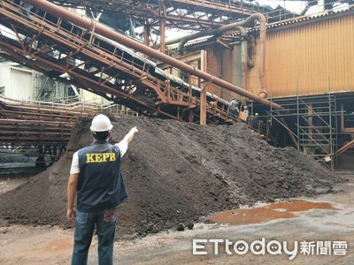 中鋼公司輸送帶摩擦起火 遭罰20萬元罰鍰