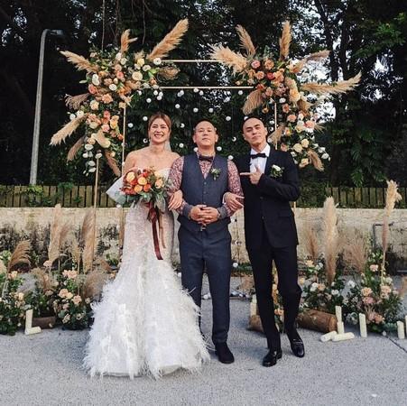 ▲林珈安舉辦婚禮。(圖/翻攝自MC Jeng Instagram)