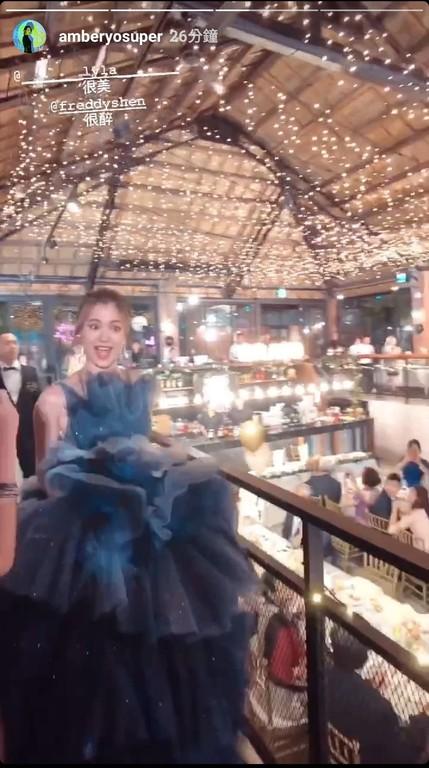 ▲林珈安舉辦婚禮。(圖/翻攝自安柏兒Instagram)
