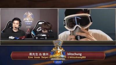 香港電競選手獲勝「戴口罩喊8字口號」