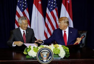 美國抗中 李顯龍:亞洲國家痛苦