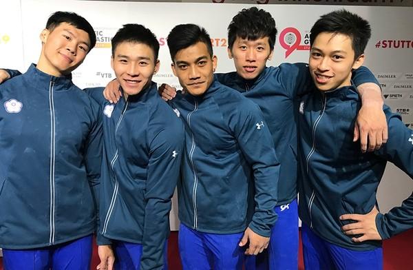 精英獎/中華體操男團奪4席奧運門票 入圍最佳運動團隊