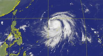 哈吉貝估將成「今年最強颱」 收假日變天轉雨