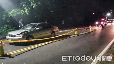 基隆婦巡菜園返家 遭轎車撞飛慘死