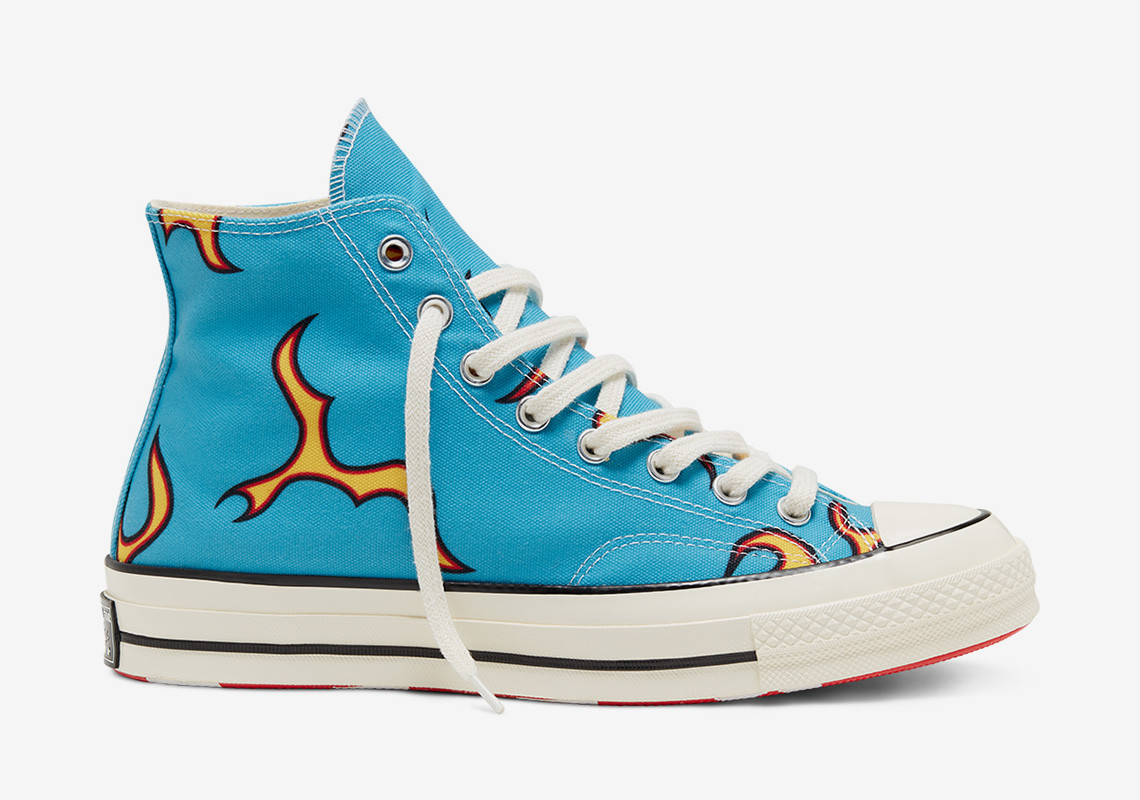 ▲Tyler, The Creator X Converse Chuck 70 High「Flame」。(圖/翻攝自Sneakernews)