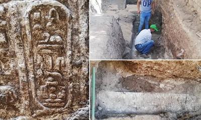 工人鑽井...挖到2200年法老古廟
