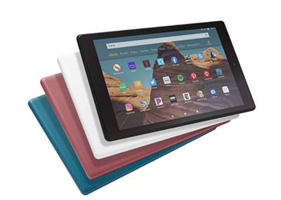 亞馬遜推新平板Fire HD 10 售價僅iPad一半