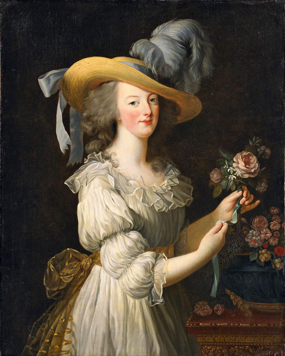 ▲▼瑪麗‧安妥奈特和鑽石項鍊(圖/翻攝自Wikipedia)