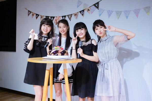 ▲ AKB48 Team TP李佳俐、高云珏、柏靈、蔡亞恩出席生日會。(圖/好言娛樂提供)