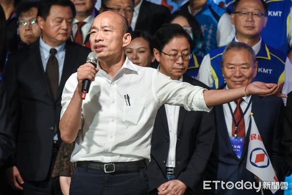 韓國瑜公布《兩岸政策白皮書》 對決蔡英文國慶講稿