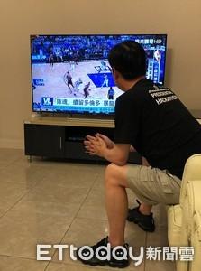 自由自在的看NBA真好!陳其邁:這是我們熱愛台灣的理由