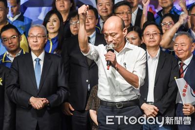 韓國瑜請衝總統選舉 吳敦義:明智選擇