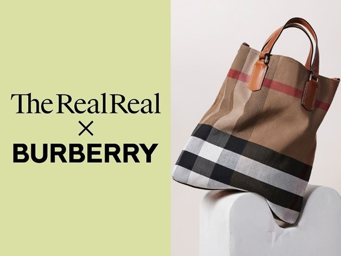 ▲Burberry與奢侈品平台The RealReal簽署環保合約。(圖/翻攝自IG@uniqlo、@therealreal、@burberry)