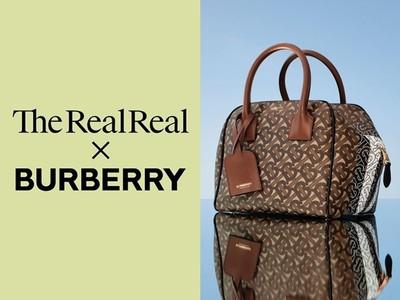 Burberry與二手精品商合作