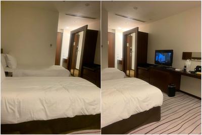 入住北海道飯店!他一看床底毛炸
