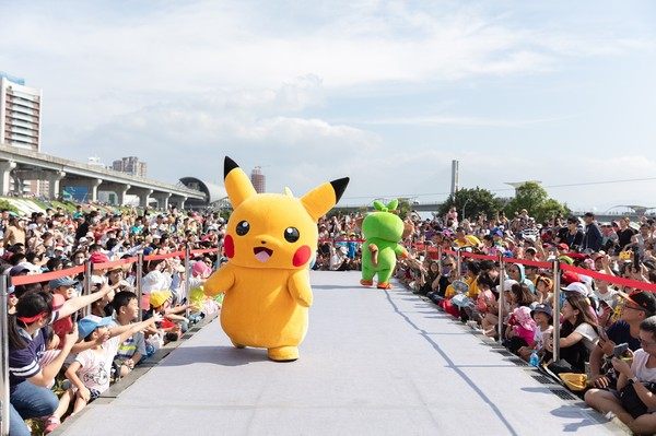 ▲「Pokémon GO Safari Zone in New Taipei City」本月6日落幕。(圖/新北觀旅局提供)