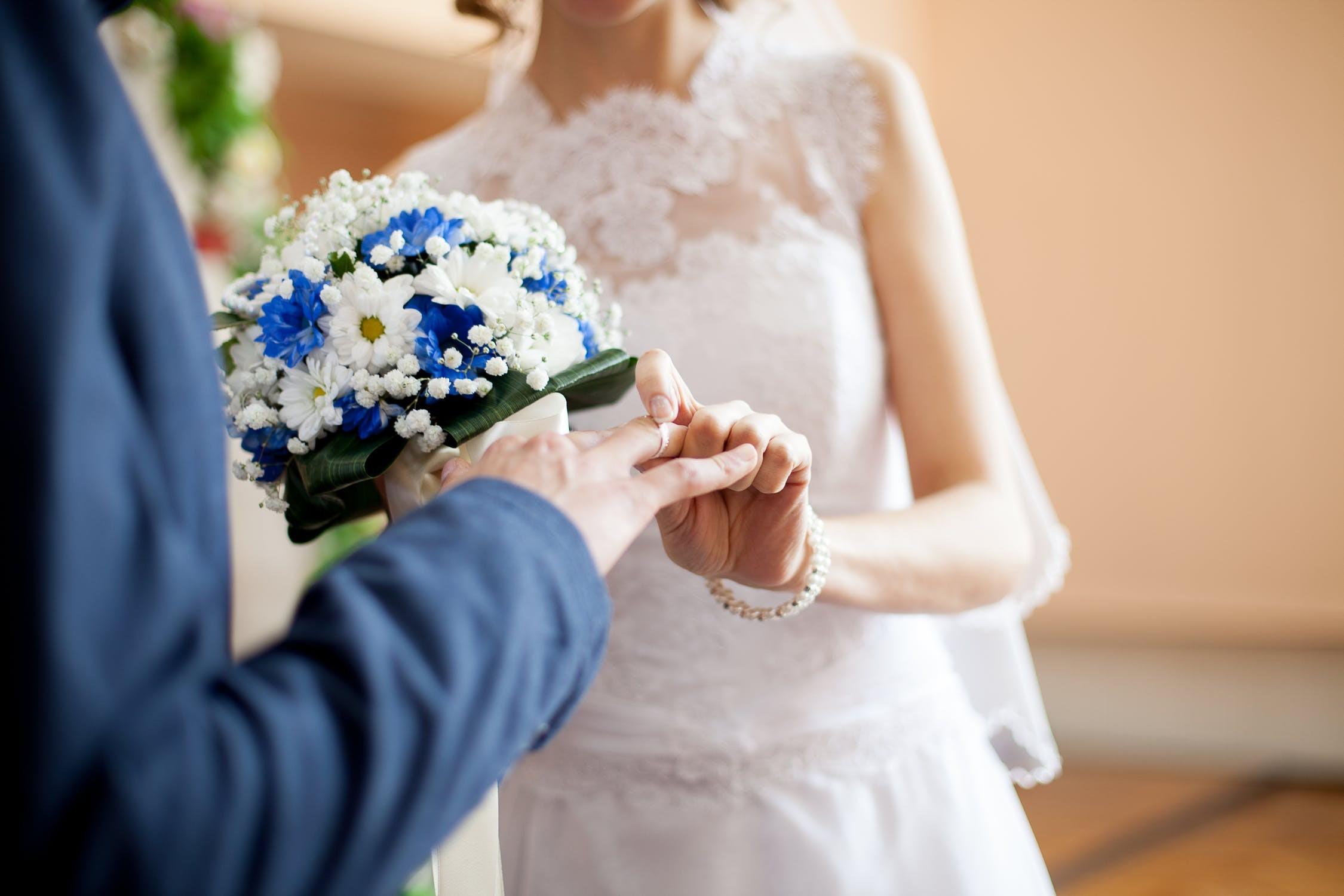 ▲結婚,夫妻(示意圖/取自免費圖庫Pexels)