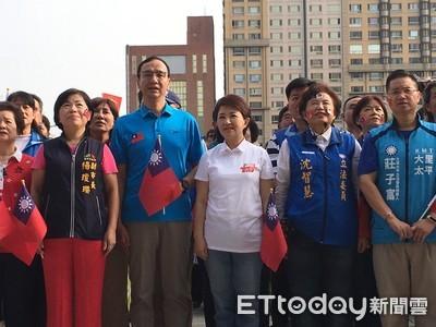 台中國慶 盧秀燕祝:中華民國和市民都快樂
