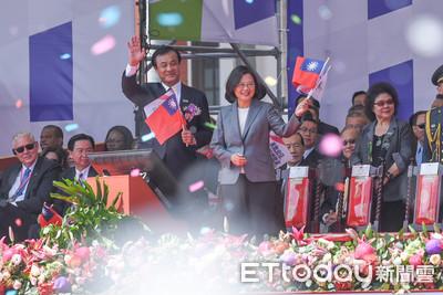 黨政人士評蔡英文國慶談話:建構屬於台灣人的中華民國史觀