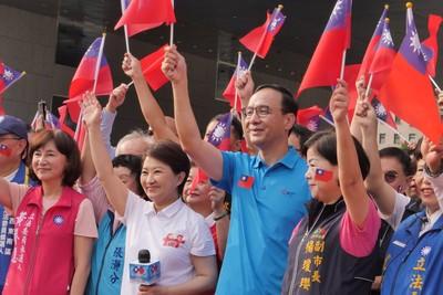 韓國瑜民調低迷 朱立倫:只靠國民黨員穩袂條