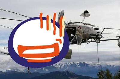 飛行員被甩出!乘客坐機翼等救援