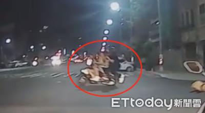 高雄街頭版國慶閱兵「5貼」特技呼嘯街頭