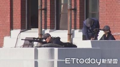 國慶大會維安全面升級 「女狙擊手」埋伏總統府制高點