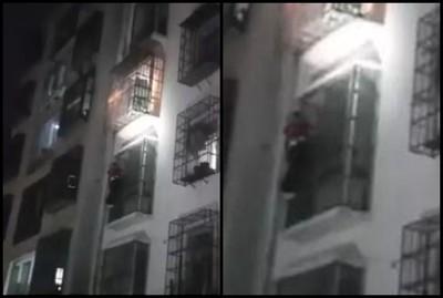12歲男偷買手機怕爸媽罵…爬大樓外牆回家超慘