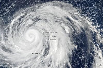 今年超級颱風!哈吉貝持續60個小時
