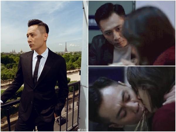 ▲劉燁新劇中和馬伊琍的吻戲被網友罵翻。(圖/翻攝自微博/娛樂啵爺、劉燁)