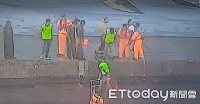 伽藍漁港猛浪突襲 3女遊客遭捲入海獲救