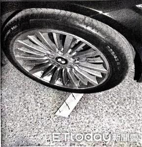 輪胎1個月被刺破18次 警查出前男友所為