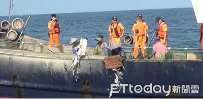 陸船國慶日越界打撈 還破壞台灣漁船網具
