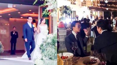 梁鉉錫出席婚禮還打卡!韓網譙翻:放過GD