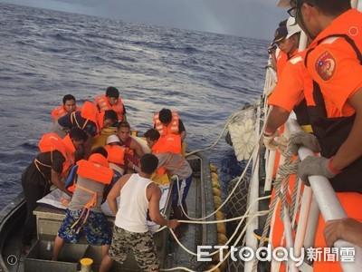船長千浬外中風待救 海巡啟動海空救援