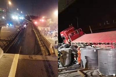 超載122噸壓壞橋梁 負責人一聽失聯