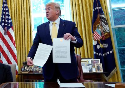 川普:美中結束貿易戰已非常接近