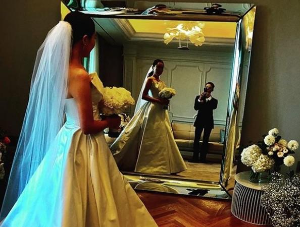 ▲GD參加姐姐婚禮。(圖/翻攝自Instagram/GD)