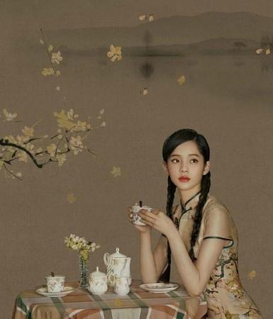 ▲歐陽娜娜在電影中的旗袍造型曝光。(圖/翻攝自微博/新浪娛樂)