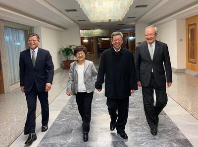 陳建仁訪視駐義大利代表處 每年急難救助破200件