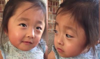 4歲和養父母相遇!萌娃真情告白
