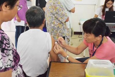 竹縣流感疫苗 11月15日開打