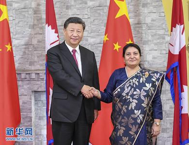 習近平會尼泊爾總理:搞分裂只能粉身碎骨