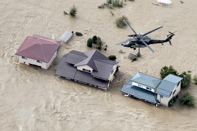 哈吉貝颱風橫掃 日本增至74死