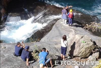 帖比倫瀑布1男落水 捲入漩渦亡