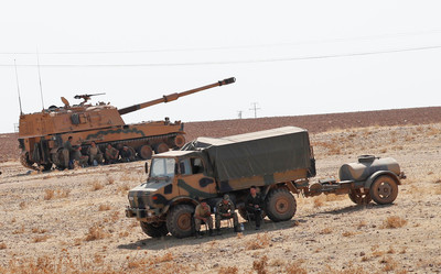 德法:暫停武器出口至土耳其
