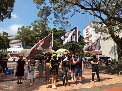 1100名台學生在港 教部尊重參加反送中活動